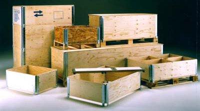 imballaggi in legno a Roma