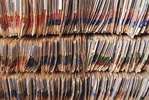 Deposito Roma archivio cartaceo